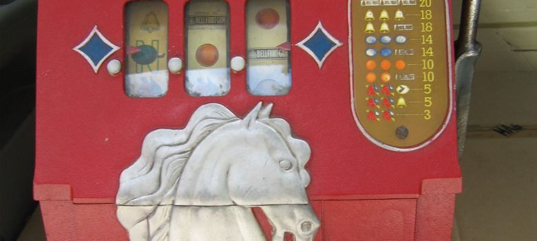 slot machine bar